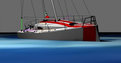 Sabrosa Batkare class 9.50 3D render