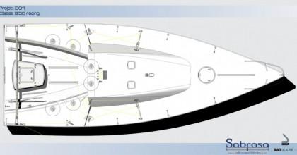 Sabrosa-rain classe 9.50 deckplan